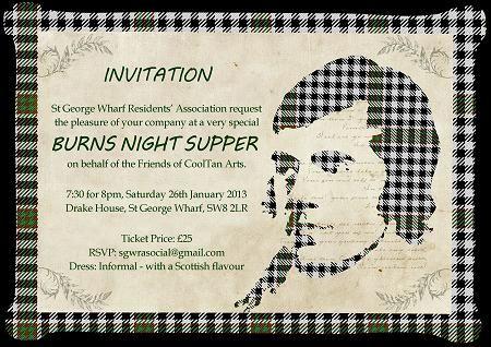 Burns night invitations Google Search Burns Night Pinterest