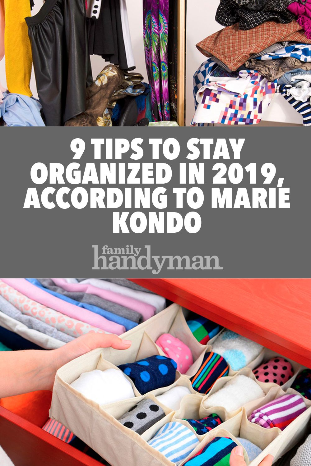 9 tips to stay organized in 2019, according to marie kondo