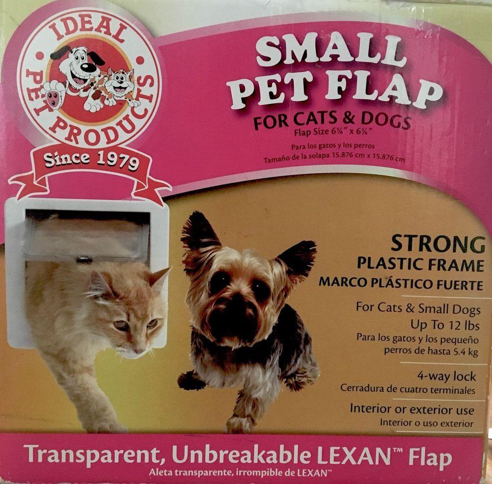 Small Pet Flap Dog Door Cat Door 625 X 625 New Ideal Pet