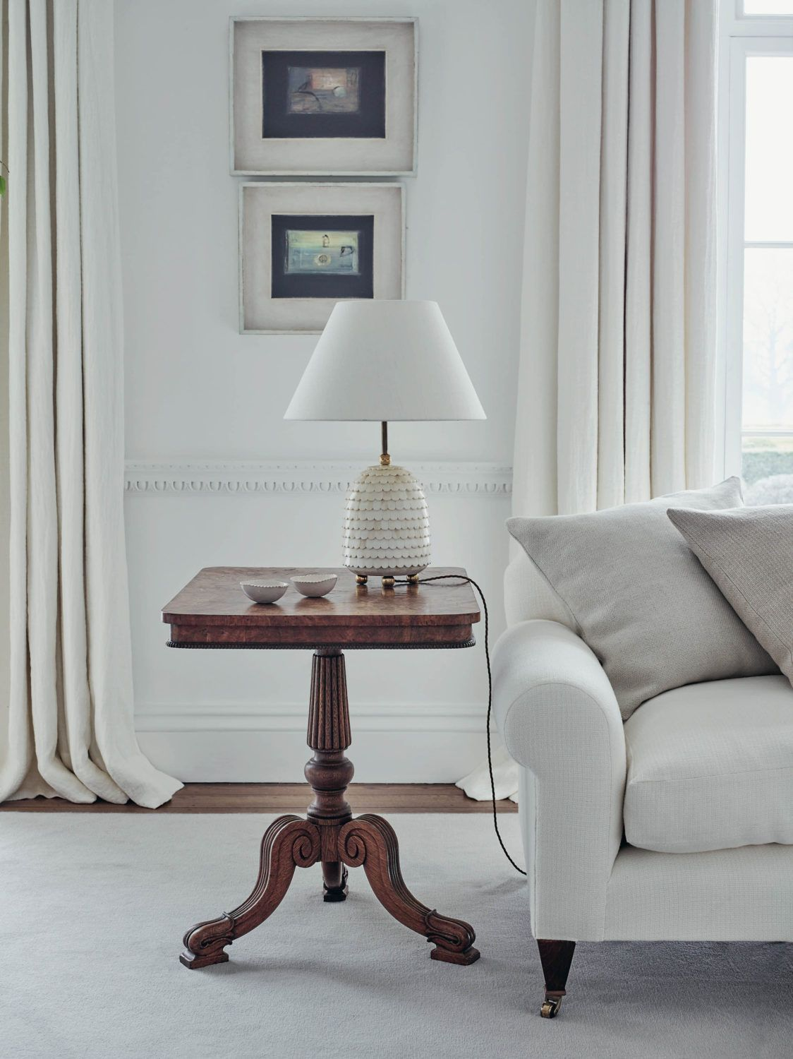 Tour the Home of The White Company's Founder, Chrissie Rucker | lark & linen