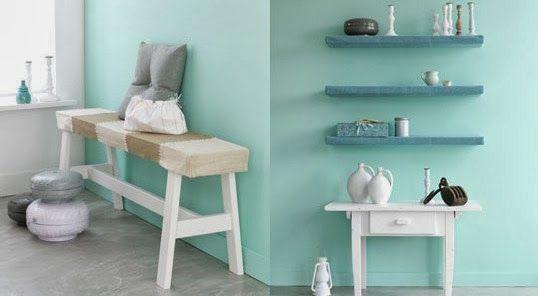 Krealicious: Interieur | Mintgroen | Mint groen | Pinterest