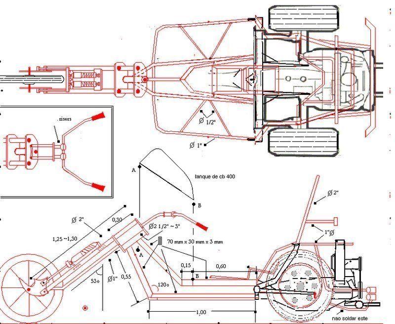 chassi triciclo - Pesquisa Google   2 wheels   Pinterest   Drift ...