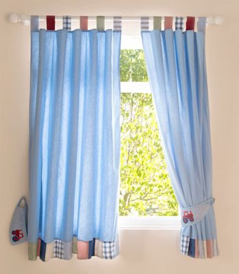 Buy Your Baby Weavers Busy Tractor Curtains Tie Backs From