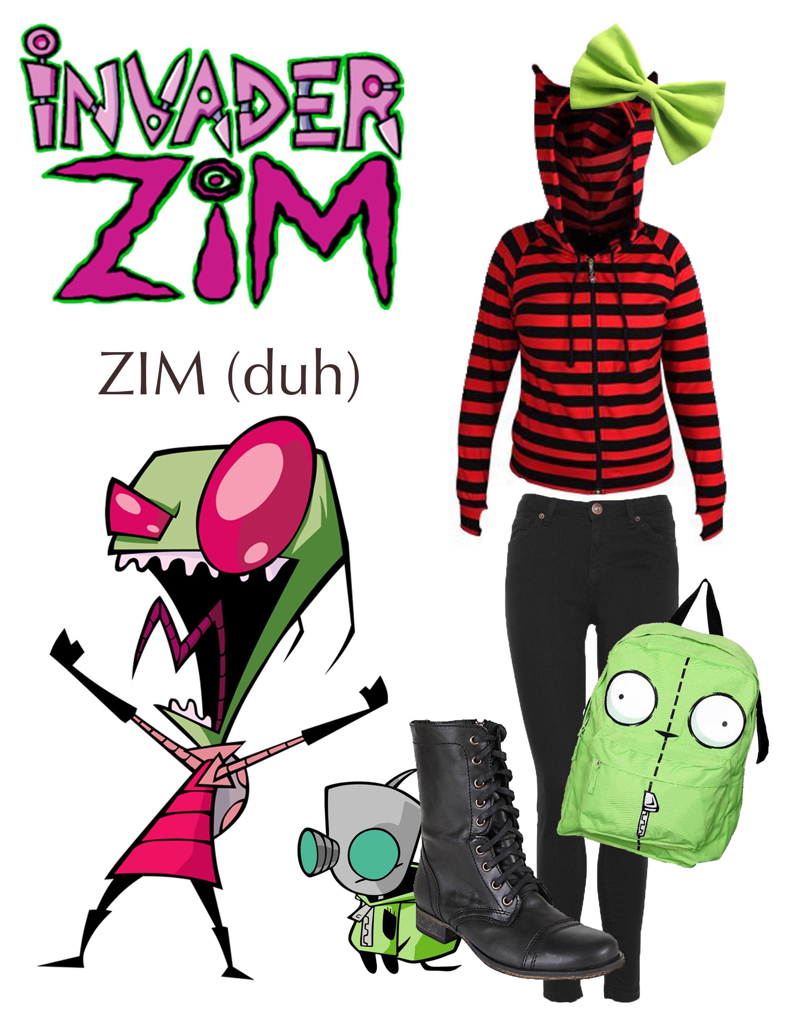 Emo Gir Invader Zim | www.topsimages.com