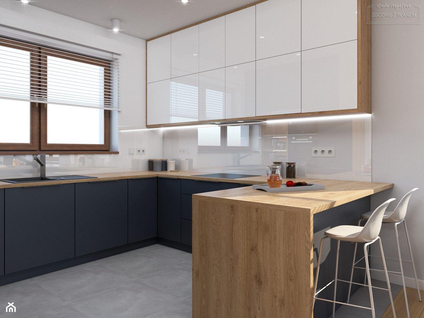 Kuchnia W Ksztalcie Litery U Aranzacje Pomysly Inspiracje Homebook Modern Kitchen Interiors Simple Kitchen Design Kitchen Design