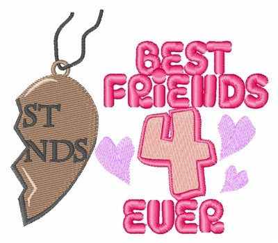 4 Ever Pendant Embroidery Design Annthegran Free Embroidery