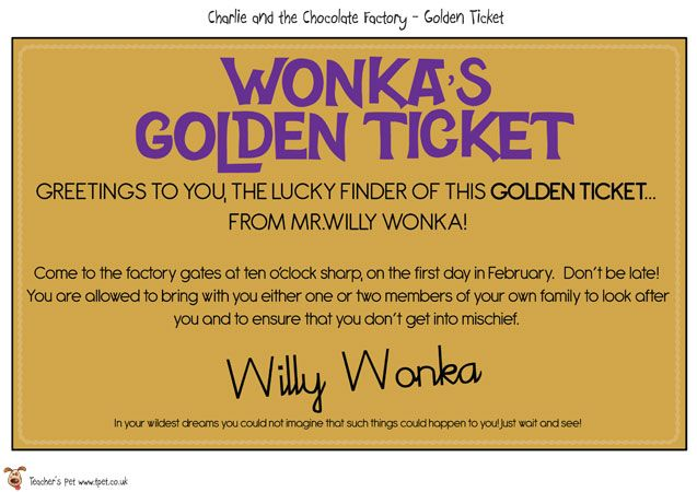 photo about Printable Golden Tickets identify Instructors Canine - Printable Golden Tickets - Absolutely free Clroom