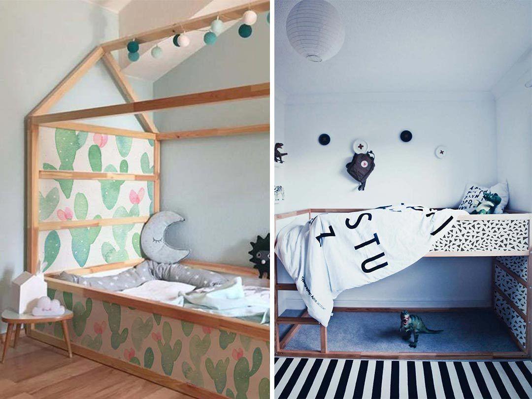Urban Jungle Inspiratie : Kinderkamer tip: pimp je ikea kura bed met deze stickers kamer