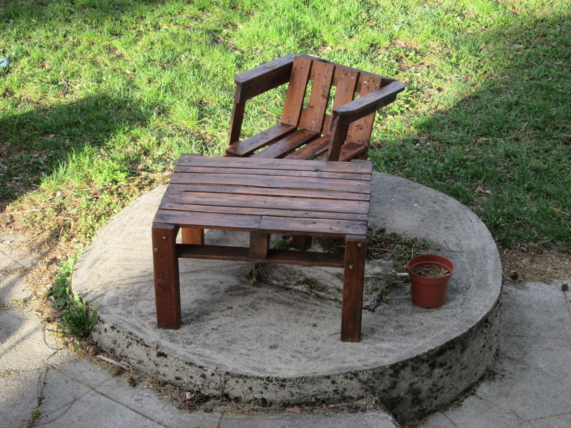 Mobilier De Jardin En Palette | Mobilier De Jardin En Palette ...