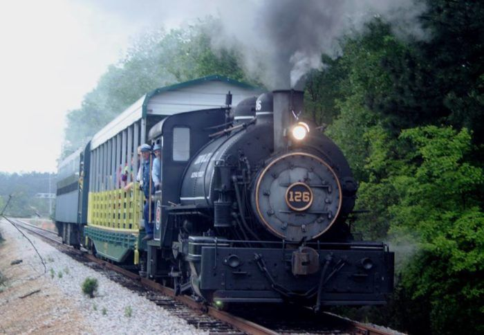 Don T Miss This Rare Opportunity To Ride The Coal Ed Steam Train At South Carolina Railroad Museum