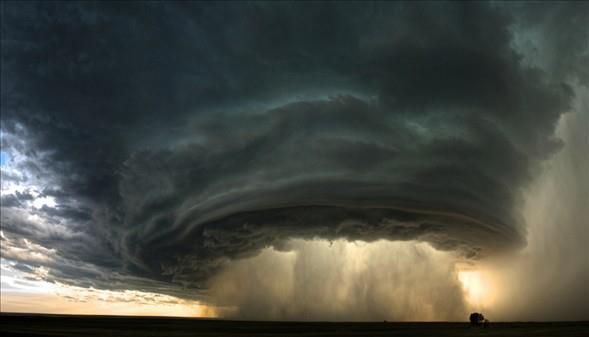 Supercell Thunderstorm, Montana  Unbelievable Photo!
