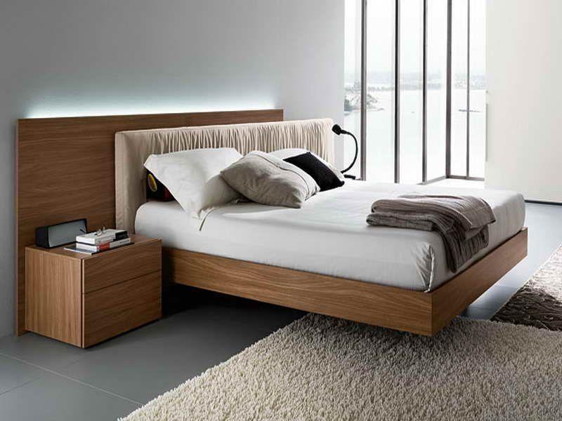 Modern Wood Bed Frames Home Decoration Ideas Pinterest