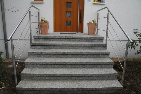 Außentreppe Beton Preis edelstahlgeländer für aussentreppe mit led leuchten railings with