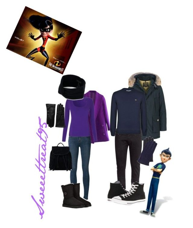 Williet Winter Wear! by sweeettreat95 on Polyvore featuring polyvore fashion style Jigsaw Woolrich H&M J Brand Converse UGG Australia NLY Accessories rag & bone Saks Fifth Avenue Collection Dolce&Gabbana clothing the violet meet wilbur williet