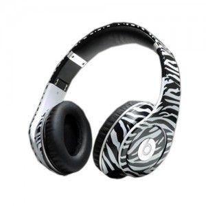 Zebra print beats! love these