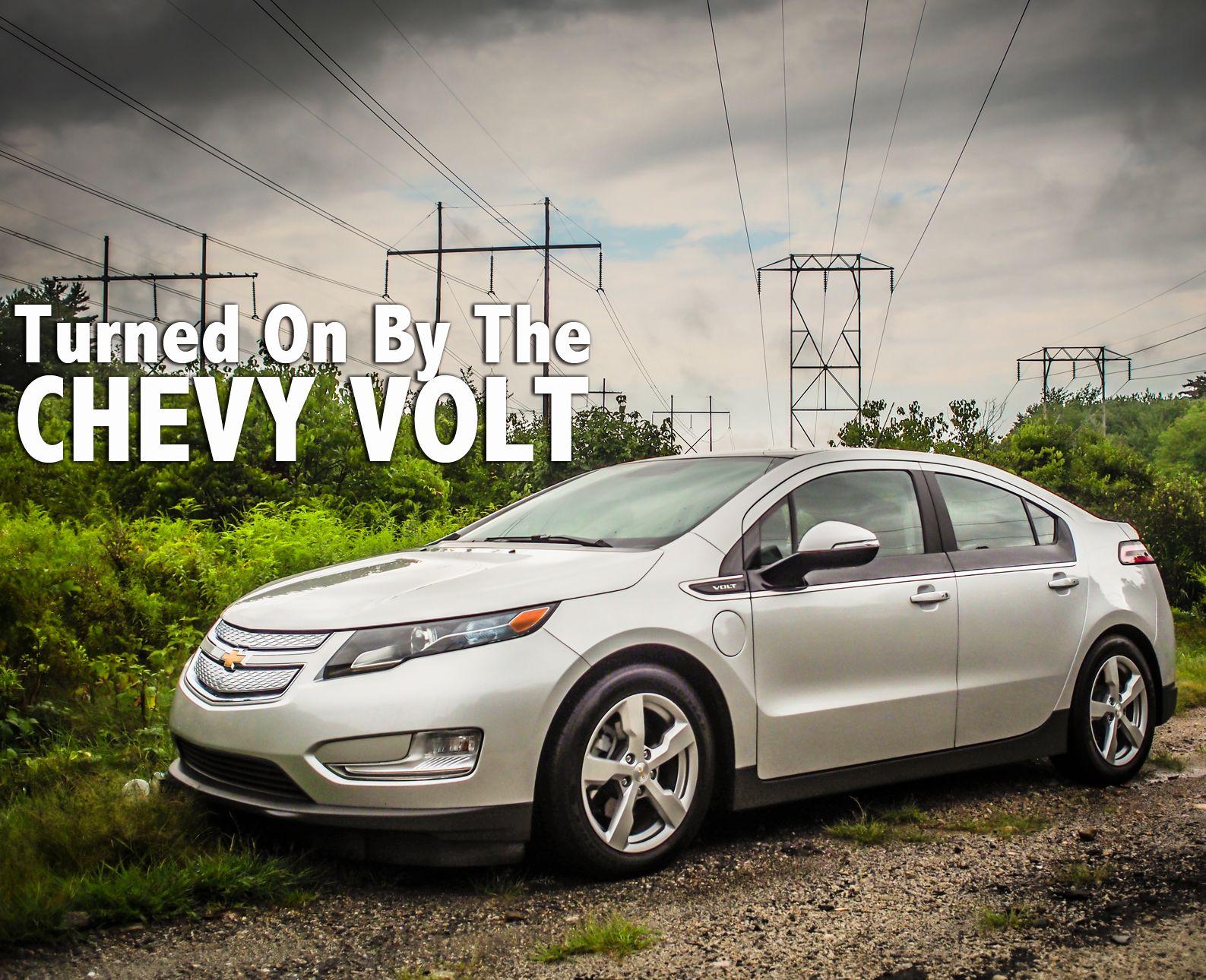Chevy Volt Electric Vehicle Bumper Sticker