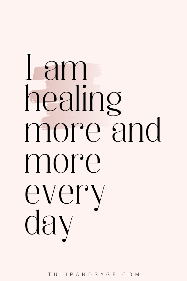 20+ Positive Affirmations For Self-Love   Tulip and Sage