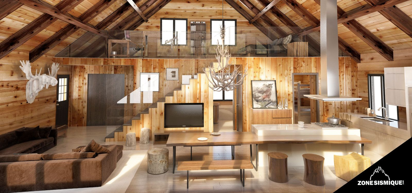 Cuisine Chalet Bois Pin By Georgia Mou On Rustic Pinterest House Log Homes And Cabin