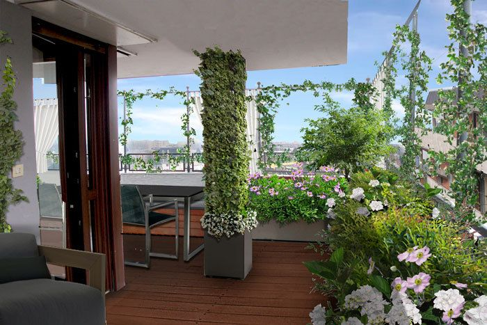 Progetto terrazzo in provincia di milano