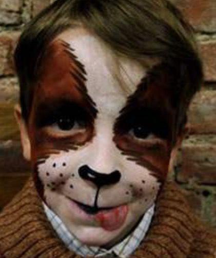 Alanna Nana Play Makeup Arf Pinterest Dog Face Paints Dog