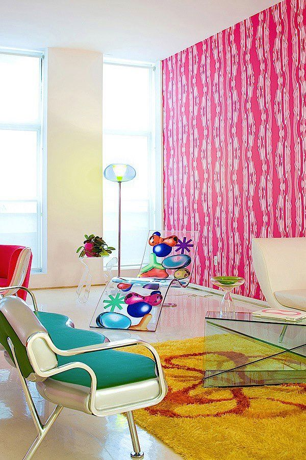 Colorful Interior Design in Vivid New York Loft | Karim rashid ...