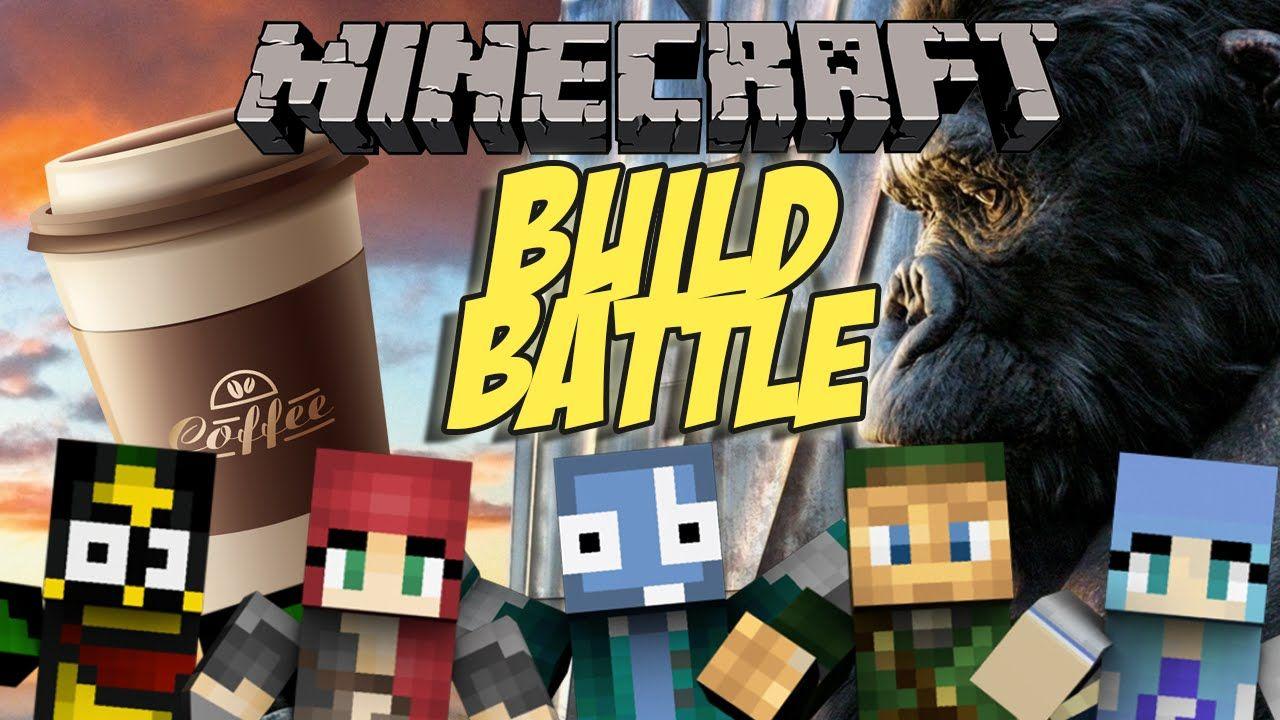 Minecraft Ita King Kong Beve Caffe Build Battle Minigame King Kong Kong Battle