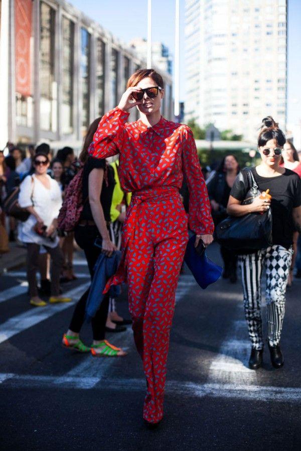 Coco Rocha, 45 street style photos from New York Fashion Week #NYFW