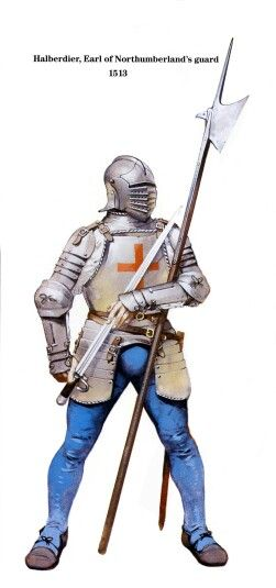 Halberdier of the Earl of Northumberlands guard : Flodden 1513
