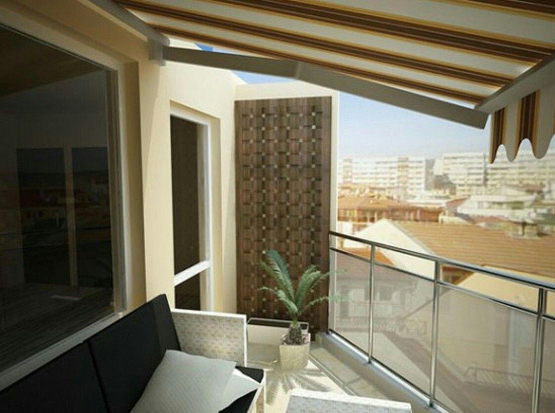Apartment Balcony Privacy Screen   Small balcony design ...