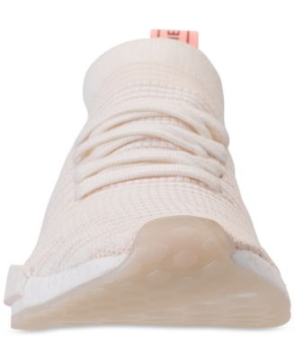 5ba03e91541 adidas Women s Nmd R1 Stlt Primeknit Casual Sneakers from Finish Line -  White 8