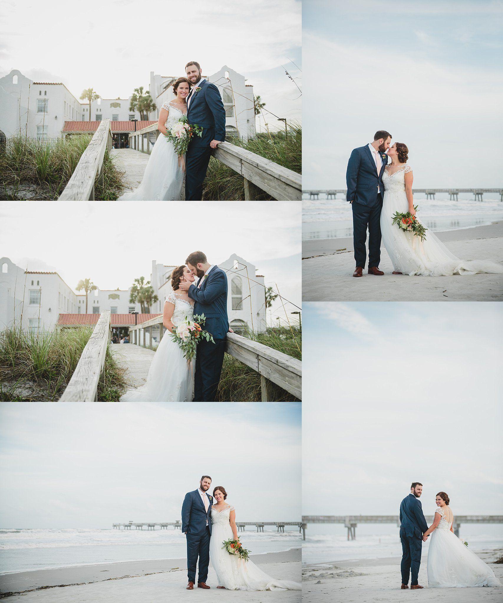 Jacksonville beach weddings  Casa Marina Wedding Jacksonville Beach FL by Stephanie W