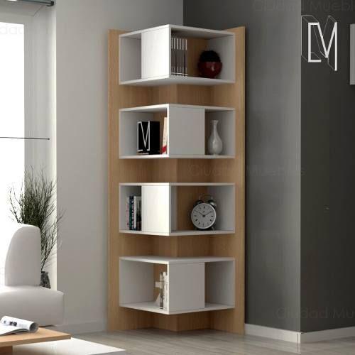 Mesa ratona living melamina revistero moderno - Mesas de libro para salon ...