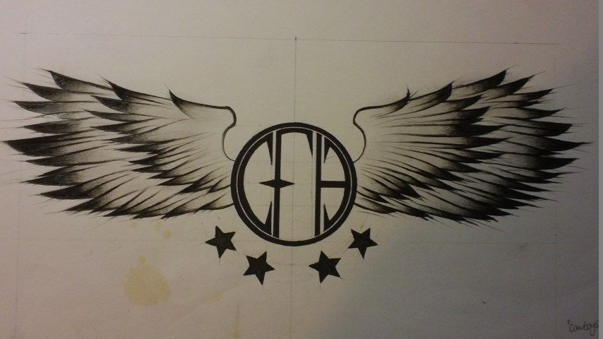 quotcfhquotcowboys from hell pantera tattoo design of mine