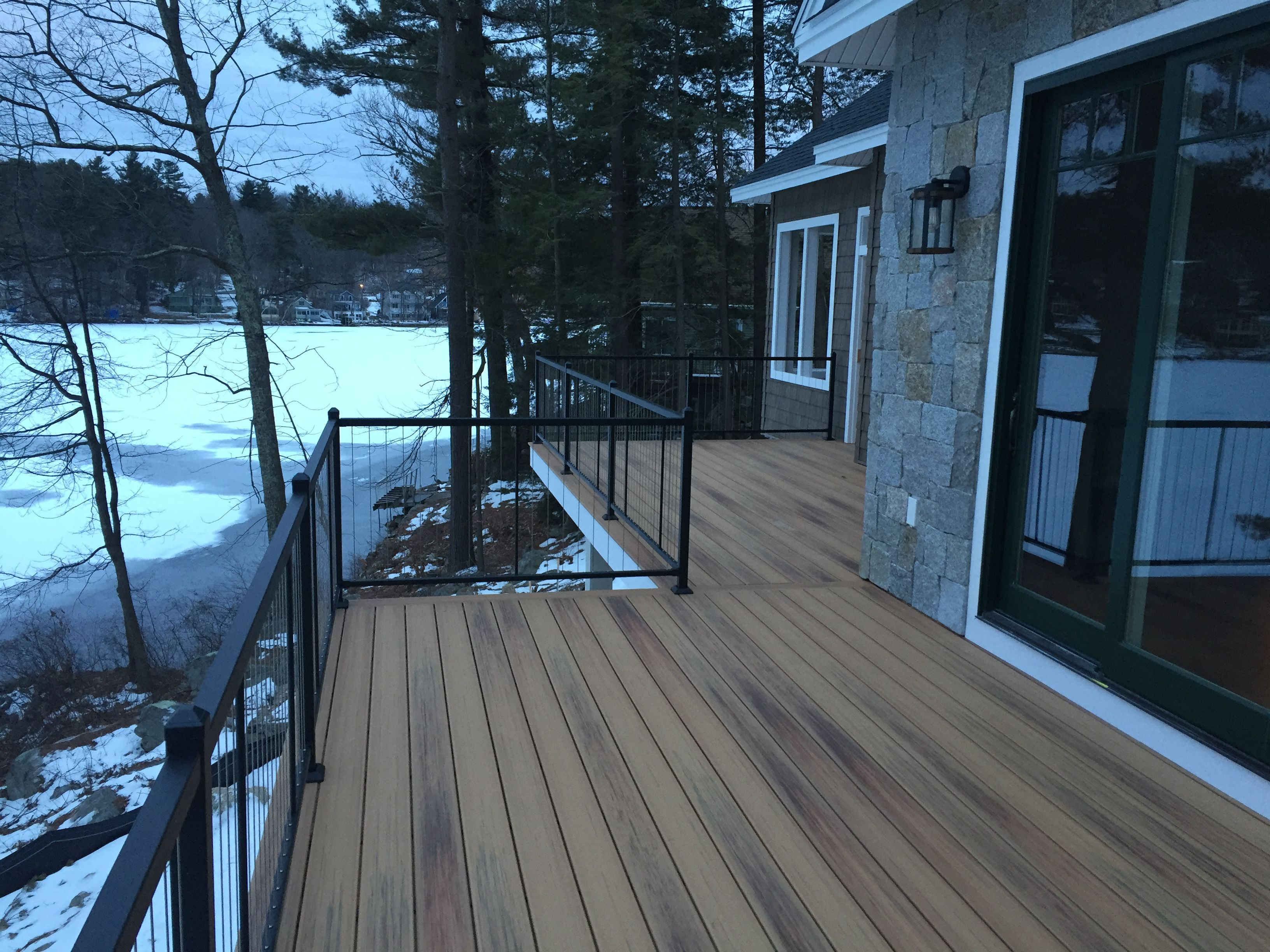 Best Fortress Vertical Cable Railing Corbettts Pond Nh 400 x 300