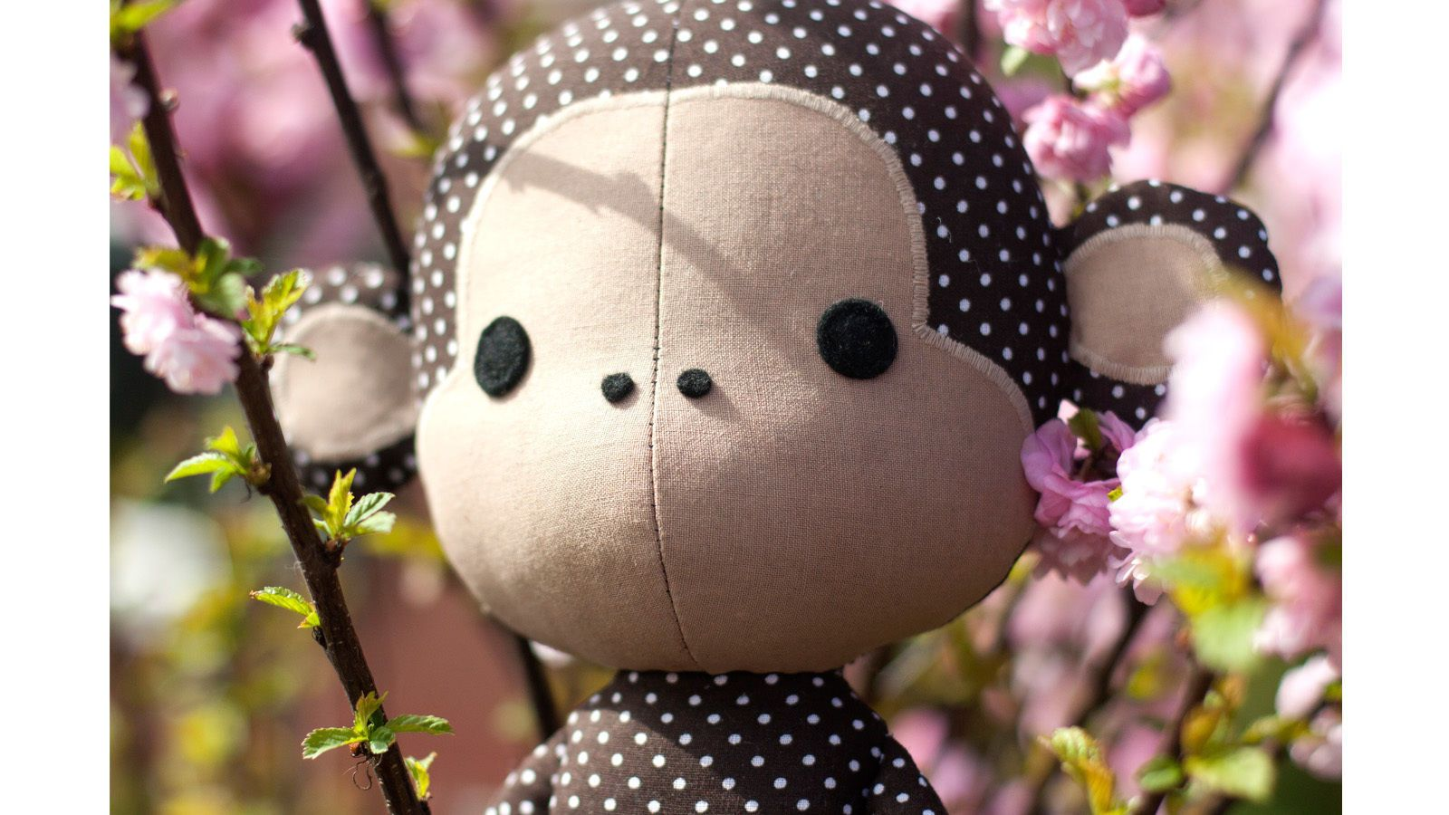 Kuscheltier Affe selber nähen Cute monkey sewing pattern - ENGLISH ...