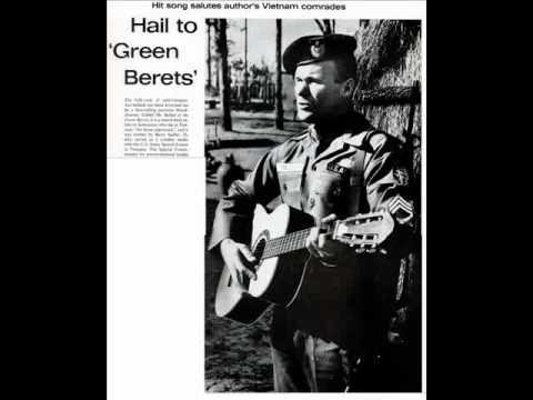 Ssgt Barry Sadler Badge Of Courage 1966 Vintage