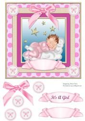 It's a Girl Card Front