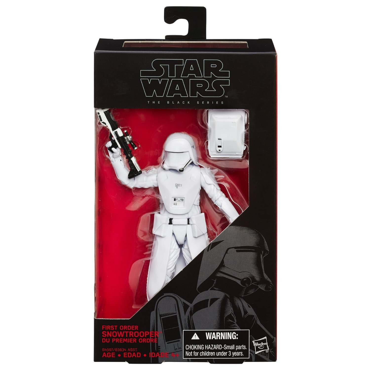 "Star Wars The Force Awakens 6/"" Black Series First Order Snowtrooper"