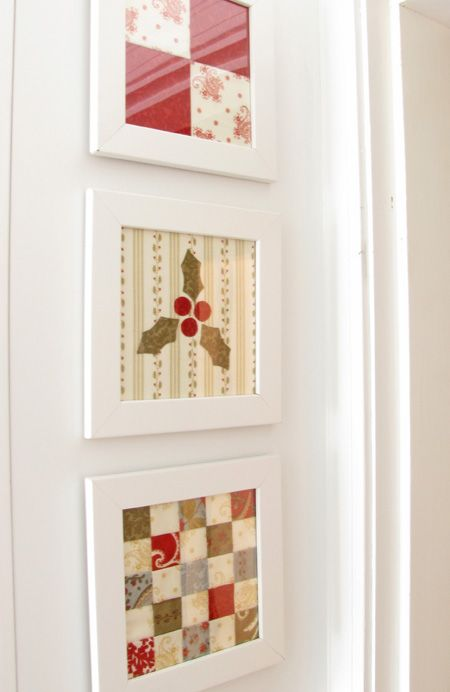 Picture framed quilt blocks... I see these blocks changed with the ...