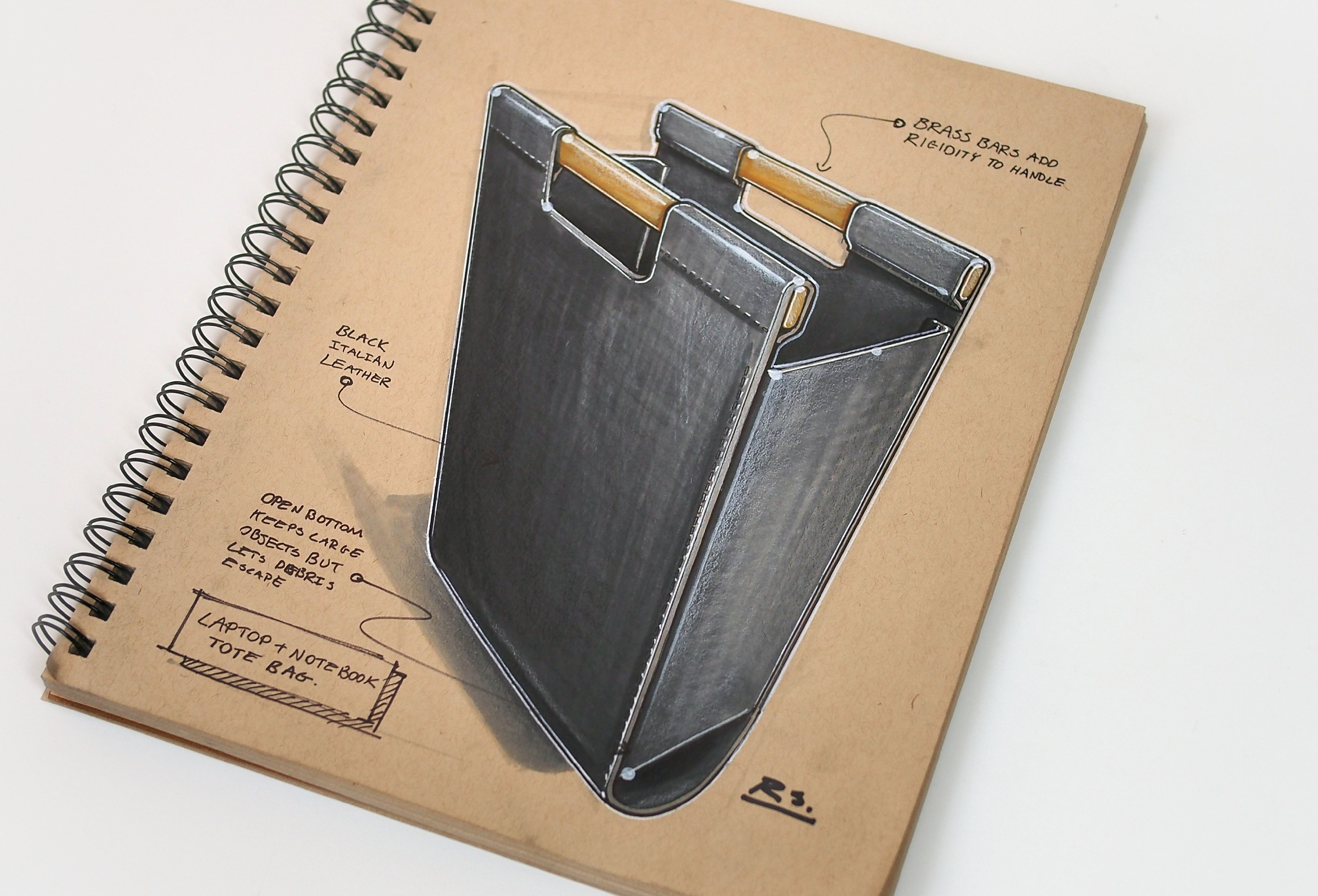 Enjoy these industrial design tips from Reid Schlegel, a Virginia Tech ID Alumni and NYC-based industrial designer for Frog Design. With his fresh sketching style, you'll see how he sketches a concept and renders it with Copic markers.