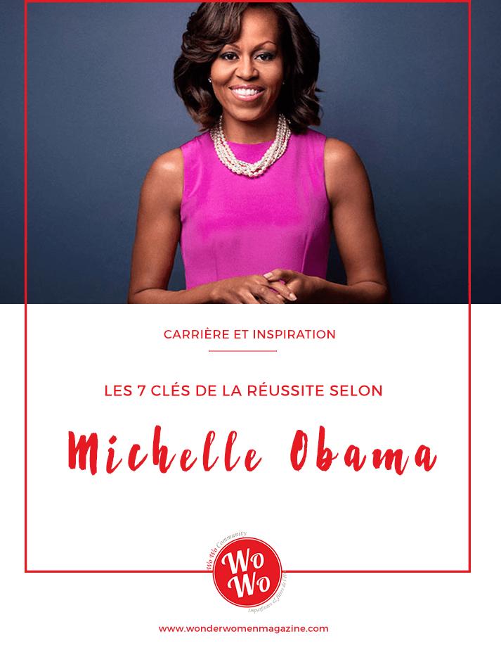 Les 7 clés de la réussite selon Michelle Obama