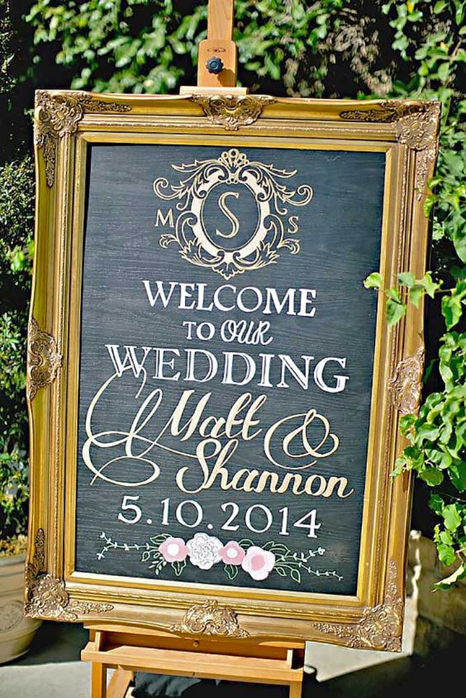 30 Clever & Funny Wedding Signs For Your Reception
