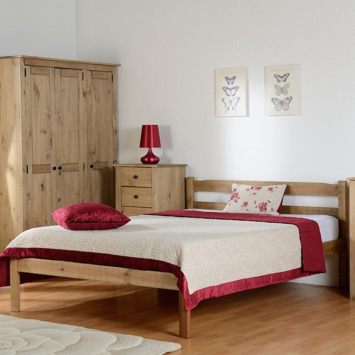Asmund Wood Bed Frame - Luxury Leather Beds - Beds.co.uk - The Bed ...
