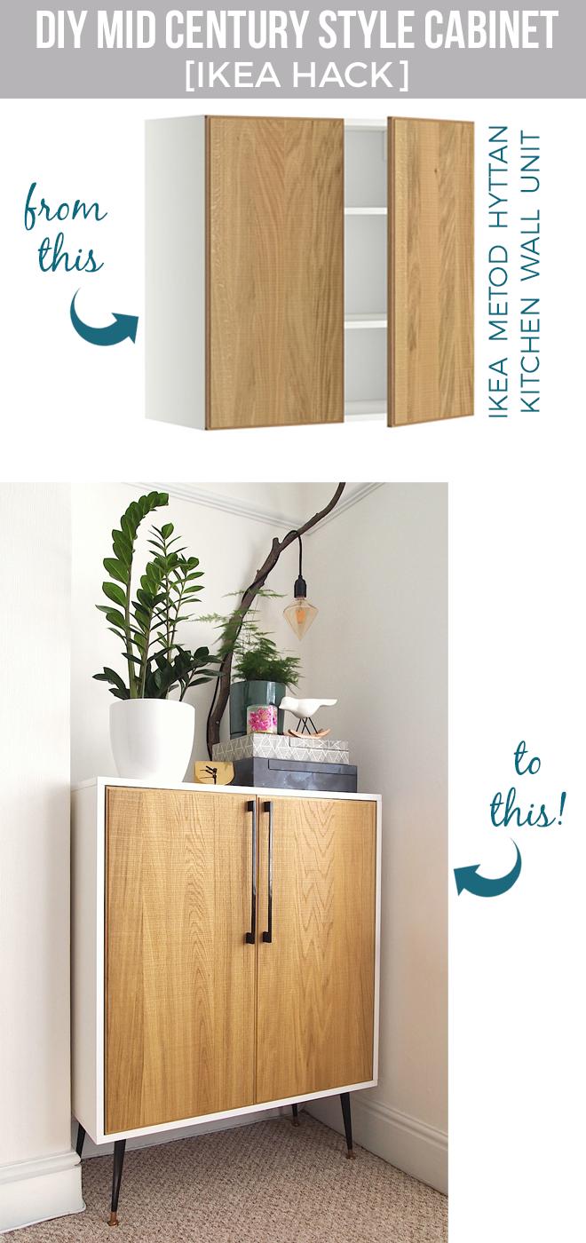 Diy Fabriquer Un Meuble Cabinet De Style Avec Un Placard De Cuisine Avec Images Fabrication Meuble Placard Cuisine Relooking Meuble