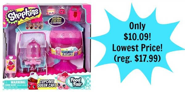 Shopkins Cupcake Queen Cafe 1009 Lowest Price Reg 1799