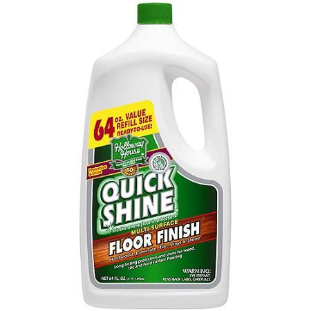 Quick Shine Floor Finish, 64 fl oz