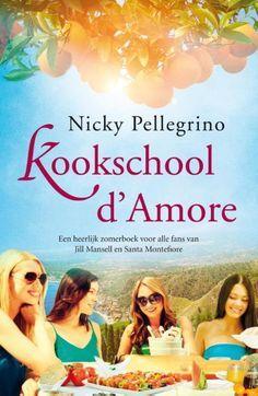 73/90 Gelezen nov. 2016, vijf sterren van mij! Een heerlijk boek over een kookschool op Sicilie. Vond het zo jammer, toen ik het uitgelezen had! Nicky Pellegrino - Kookschool d'Amore