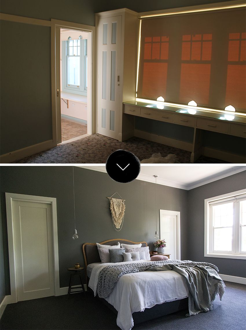 Before & After: An Outdated Australian Weatherboard House ...
