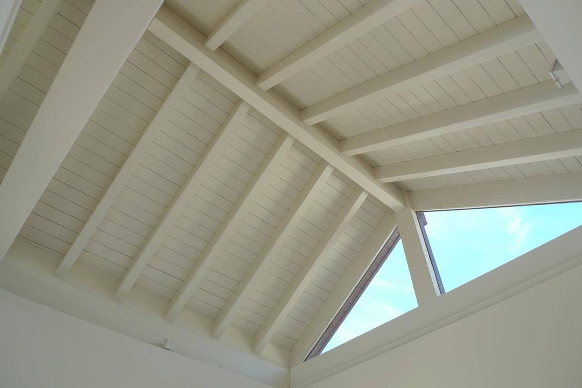 Coberti Interior De Techo De Madera Blanco Para Vivienda Techo - Techos-de-madera-para-interiores