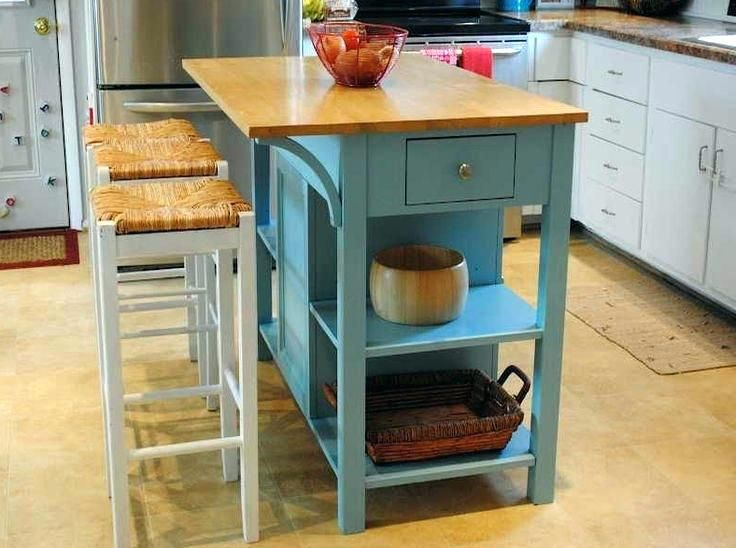 Movable Kitchen Island With Breakfast Bar 2 In 1 Functionality And Flexibility Breakfast Bar Kitchen Island Bar Stools Kitchen Island Kitchen Island Bar